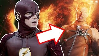 The Flash season 2 episode 1 -  Firestorm Death Scene (Ronnie Raymond Dies)
