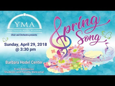 2018 Youth Music Academy's Spring Concert