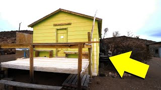 finding-an-incredible-off-grid-survival-cabin-full-of-stuff-adventure-road-trip-to-off-grid-shelter