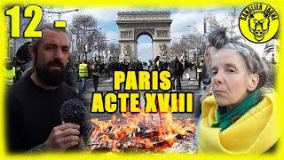 Acte 18 Paris - TOUR DE FRANCE DES GILETS JAUNES - 12 ème étape