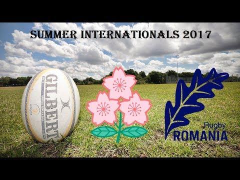 Summer Internationals Tests Match 2017 - Japan V Romania