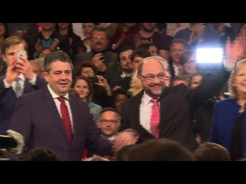 German Social Democrat Schulz chosen to challenge Merkel