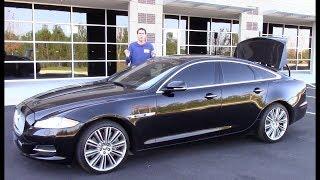 Подержанный Jaguar XJ Supercharged - это много машины за $35 000