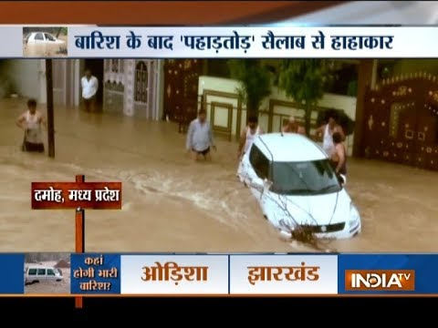 Devastating effect of flood across country | Gujarat, Rajasthan, Uttarakhand, MP, Maharashtra