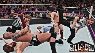 Hell in a Cell Special Referee Match (Randy Orton vs Daniel Bryan Special Ref. HBK) HIAC 2013 - 2K18