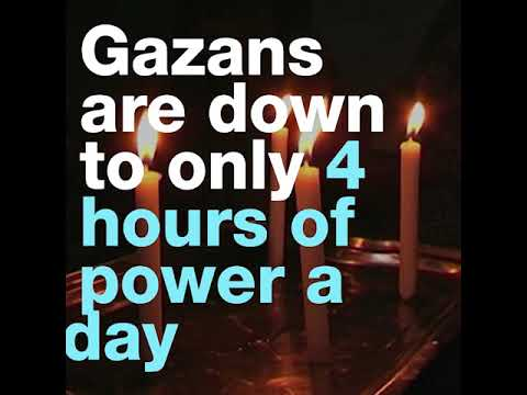 Life without electricity: a first person account from Gaza