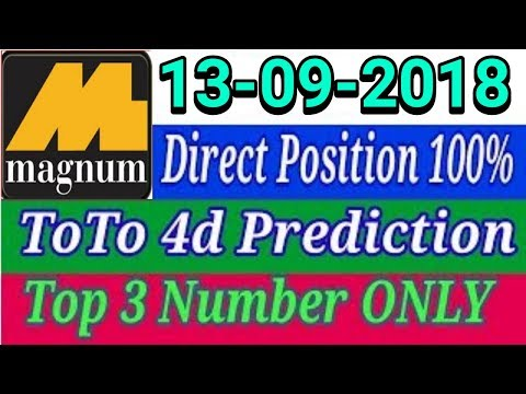 Magnum 4d calculation formula