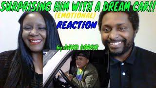 David Dobrik - SURPRISING HIM WITH DREAM CAR!! (EMOTIONAL)REACTION