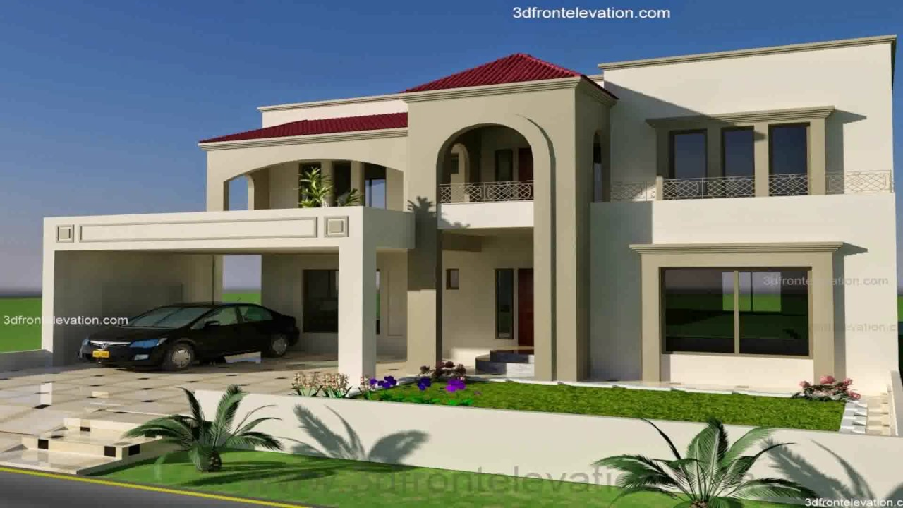 Front Design Of Punjabi House Part - 21: Best House Design In Punjab