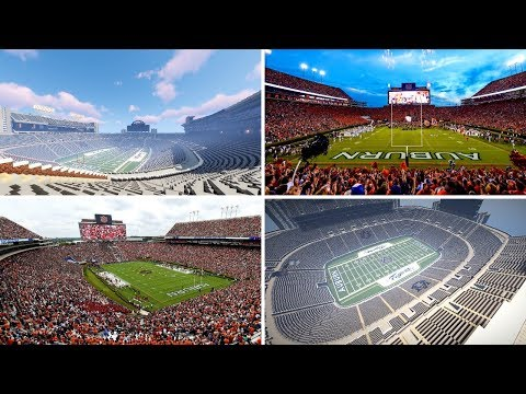 Massive Minecraft Stadium Showcase! Jordan-Hare Stadium by Auburn_tK!
