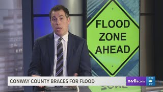 Conway County braces for flood
