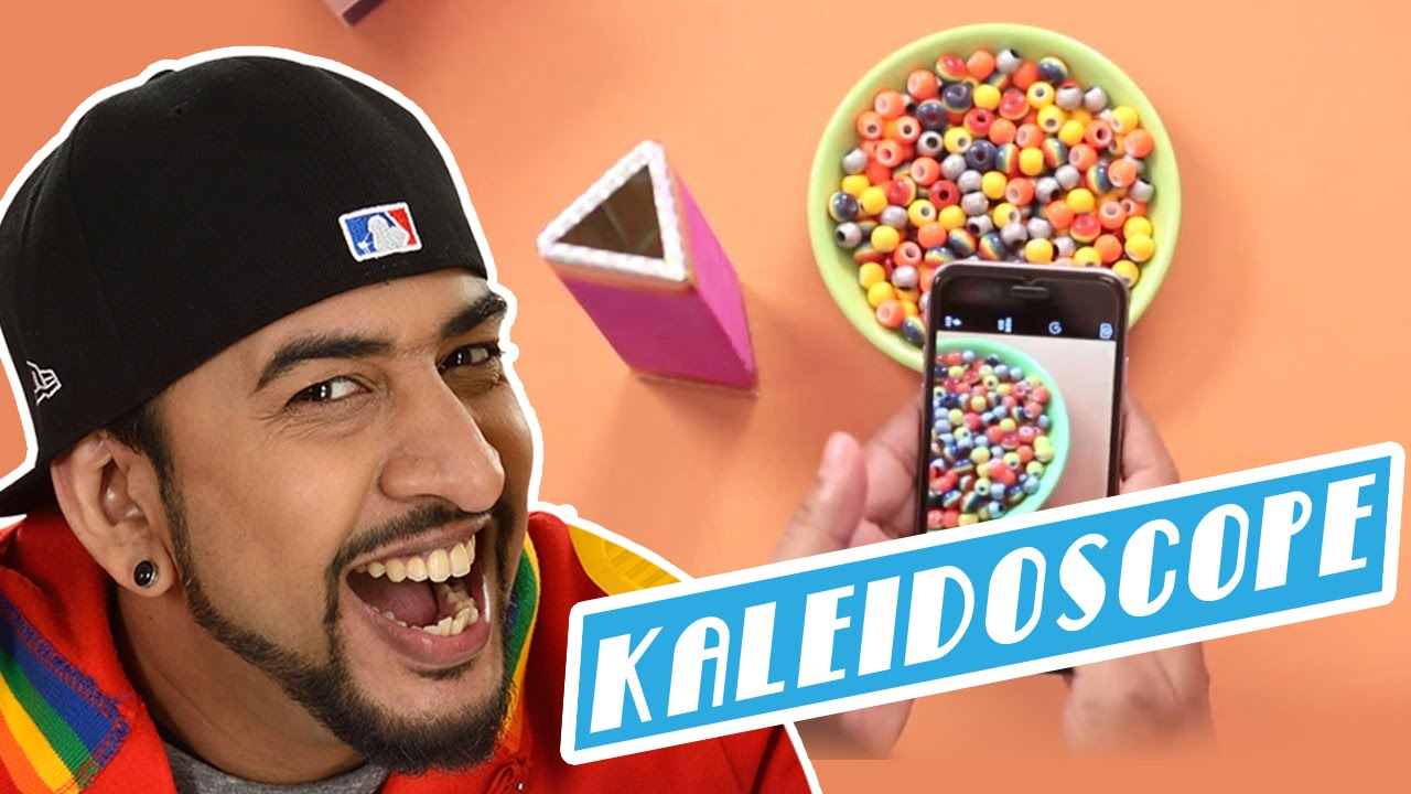 How To Make A Diy Kaleidoscope Youtube
