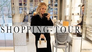 FASHION AND BEAUTY SHOPPING - TOUR | Dior , H&M und Mango