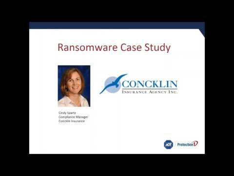 Cyber Security Ransomware Conference Call
