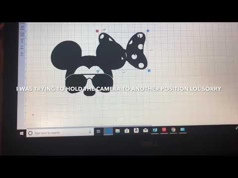 Mickey/Minnie Mouse Shirt DIY