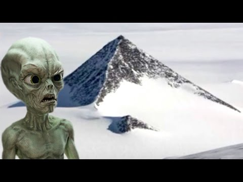 Researchers Find Alien Pyramid In Antarctica