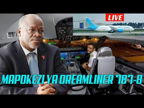 Mapokezi  ya Ndege Mpya Boing Dreamliner 787-8