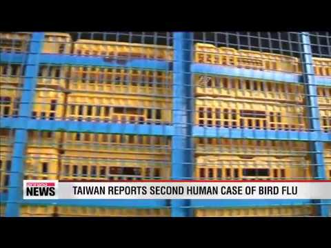 Taiwan reports second human case of H7N9 avian influenza