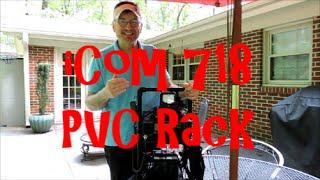 iCOM 718 Portable Carrying Rack by AI4QT