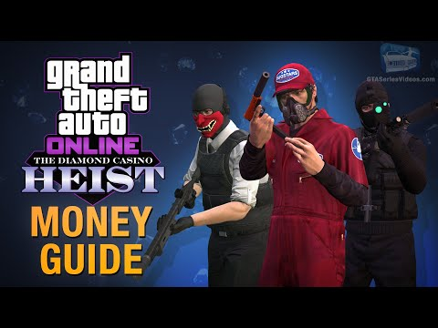 GTA Online Guide - How To Make Money With The Diamond Casino Heist