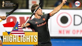 Netherlands v Malaysia | Odisha Men's Hockey World Cup Bhubaneswar 2018 | HIGHLIGHTS
