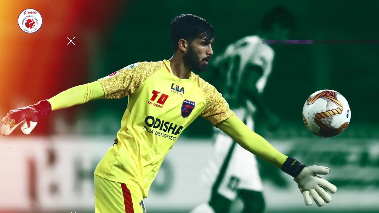 Arshdeep Singh - Top saves | Hero ISL 2020-21