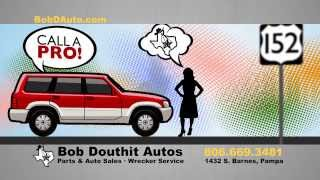 Towing Services in Pampa Texas - Bob Douthit Auto
