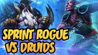 TOP 500 Legend | Sprint Rogue VS Druids | The Witchwood | Hearthstone