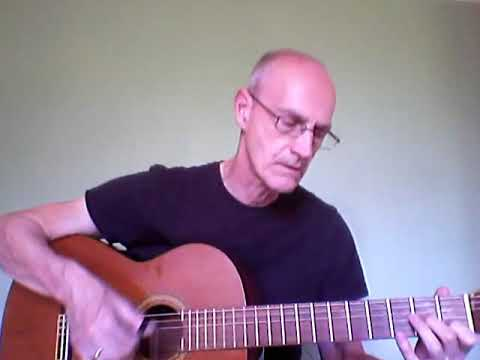 Planxty Burke Carolan with the guitar tuned to EACGBE