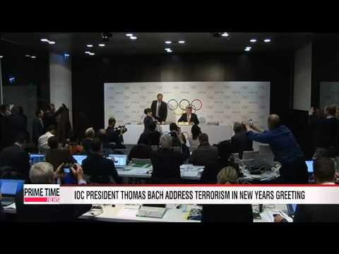 "Olympics: IOC President Thomas Bach says ""terrorism must never triumph"""