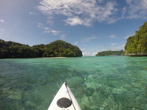 Das Abenteuer beginnt! Kajaktrip Palau, Mikronesien