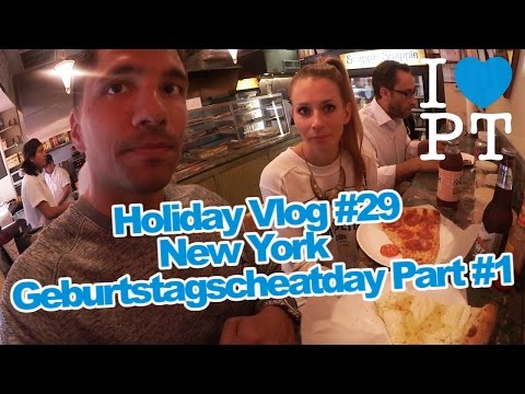 Holiday Vlog #29 - New York Geburtstagscheatday Part #1