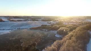 Zima CLIP1 Видео с квадрокоптера