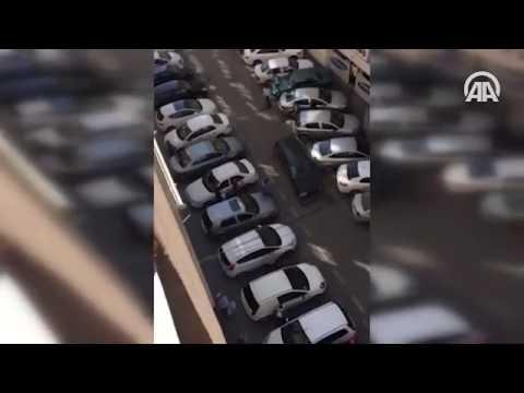 Kaza yaptığı otomobille kaçarken 'trafik terörü' estirdi