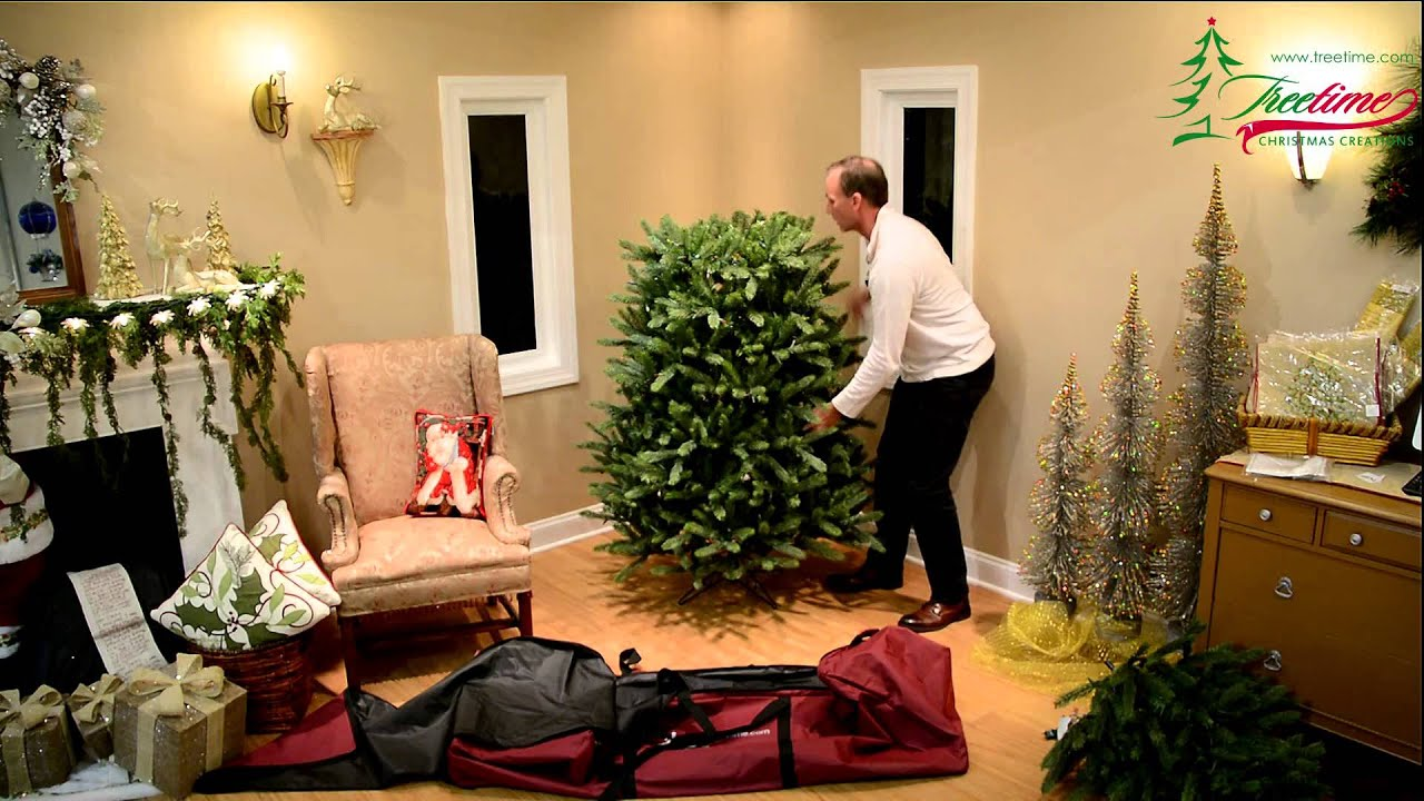 How To Store Your Artificial Christmas Tree In Less Than 5 Minutes   YouTube