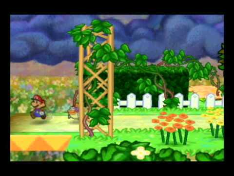 Lets play paper mario part 31 flower fields part 3 youtube mightylinksfo