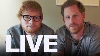Prince Harry, Ed Sheeran Talk Mental Health   ET Canada LIVE