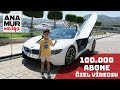 BMW i8 Coupe Baba Oğul Test : 100 000 abone özel videosu
