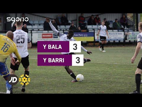 Bala Town Barry Goals And Highlights