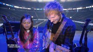 Ed Sheeran überrascht Tiara aus Deutschland nach NYC
