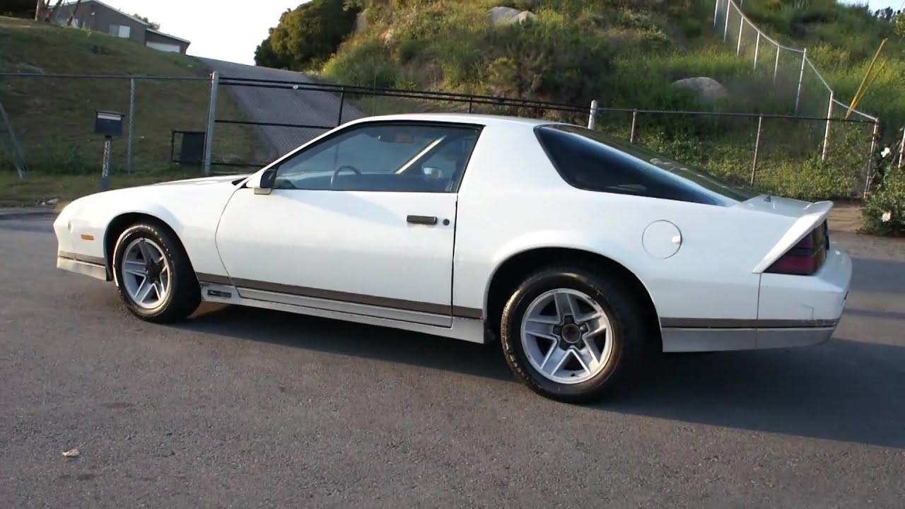 1983 Chevrolet Camaro Z28 2 Owner Iroc v8 Classic $2500 - YouTube
