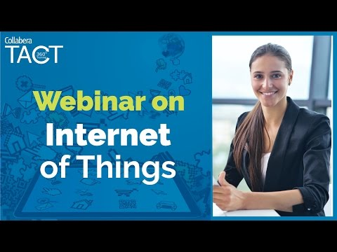 """Live Webinar on Internet of Things - """"Harnessing AI to Unleash the power of IoT"""""""