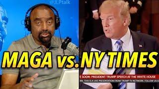 Trump vs The Failing New York Times Anonymous, Gutless Editorial: MAGA