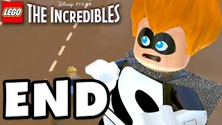 LEGO The Incredibles - Gameplay Walkthrough Part 12 - ENDING! The Final Showdown!