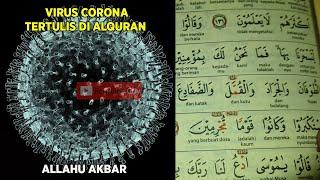 Masya Allah!  Ternyata Virus Corona Sudah Tertulis Di Alquran & Hadist