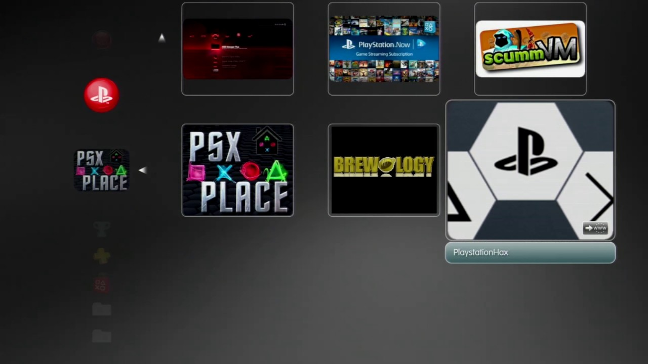 Whats New on PSX Place v1 00 (PS3 XMB MOD May 2017) - YouTube