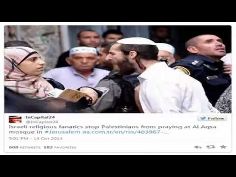 Palestinian woman been attacked by Jewish man? Or......