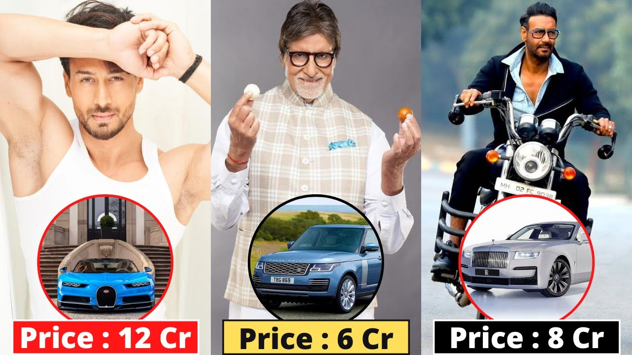 New List Of 10 Bollywood Actors & Their Most Expensive Cars - 2021 - Tiger Shroff, Akshay Kumar