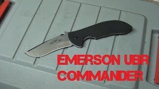 Emerson UBR Commander  -  Unboxing And Overview