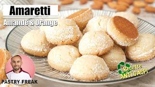 AMARETTI Moelleux - Recette des Macarons Italiens
